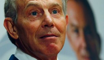 Tony Blair Photo by Reuters